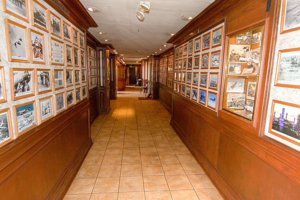 proud bird hallway